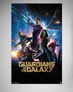 Guardians of Galaxy One Sheet Poster