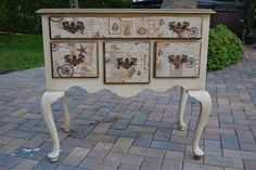 The Homeless Finch: Mom's Cherished Chest of Drawers Gets a Makeover