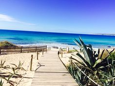 Formentera. Playa Migjorn. Pinned by ibizadiscover.com