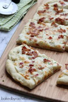 Loaded Mashed Potato Pizza Recipe  - let see if we can make it taste like the New Haven Bar mashed potato pizza my girls love