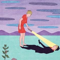 Wander and you'll find yourself. #Illustration by the great Marion Fayolle.