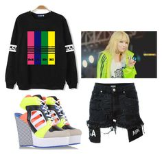"""""""my boys MADE me"""" by mishimaqueen ❤ liked on Polyvore featuring Hood by Air and adidas Originals"""