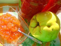 Adina's kitchen & travel: Dulceata de gutui Gordon Ramsay, Stuffed Peppers, Vegetables, Virginia, Desserts, Puzzle, Food, Canning, Fine Dining