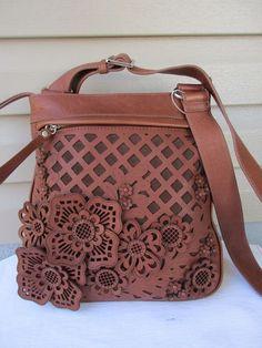Lockheart Brighton shoulder bag Cross body Brown New #Lockheart #MessengerCrossBody