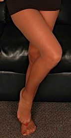 nude sheer pantyhose