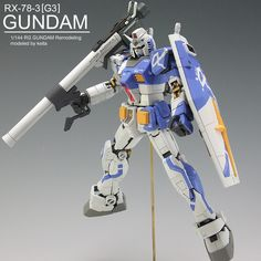 RG GUNDAM RX-78-3[G3]AmuroRay Customaize