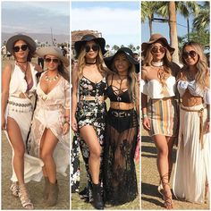 Coachella outfits round up with @christyxstyle Wearing our sunnies from @sunglasssnob Visit www.sunglasssnob.com and get 10% off with code SNOB10 #coachella2016 #coachella #festivalfashion #matchingwithouttrying #twinsies