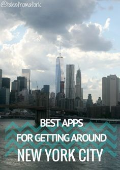 Want to know the best apps for getting around New York City used by a local? Here you go! by www.talesfromafork.com