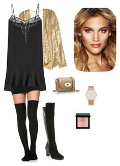 """Untitled #162"" by elenantakoy on Polyvore featuring H&M, Carven, Joie, Mulberry, Lana, Charlotte Tilbury, Larsson & Jennings, Bobbi Brown Cosmetics, women's clothing and women's fashion"