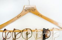 I have so many pairs of sunglasses that I had no idea how to store them. This is so simple it is brilliant.