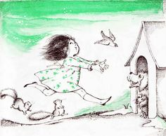 When I Have a Little Girl Charlotte Zolotow ~ Hilary Knight ~ Harper, 1965