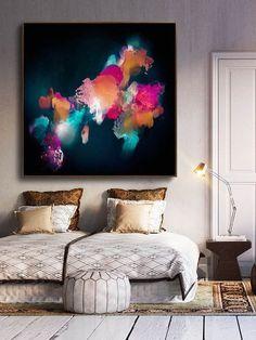 Abstract Painting - Corinne Melanie Art