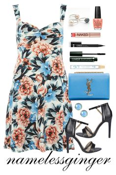 """""""untitled #531"""" by namelessginger ❤ liked on Polyvore featuring Dorothy Perkins, Yves Saint Laurent, Urban Decay, Boohoo, Clinique, Latelita, OPI and Marc Jacobs"""