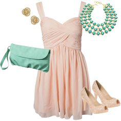 Summer Wedding, created by kassimna on Polyvore