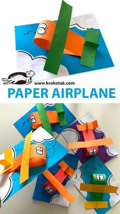 Paper Crafts For Kids, Animal Crafts For Kids, Art For Kids, Fun Crafts, Toddler Art Projects, Toddler Crafts, Transportation Theme Preschool, Art Activities For Toddlers, Daycare Crafts