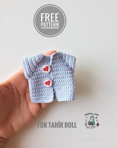 1 million+ Stunning Free Images to Use Anywhere Crochet Dolls Free Patterns, Crochet Doll Pattern, Knitting Patterns, Crochet Doll Clothes, Doll Clothes Patterns, Doll Patterns, Crochet Dollies, Crochet Toys, Free Crochet