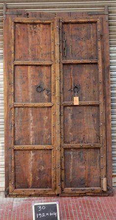 Banswara Old Indian Doors Pair Indian Doors, Bodo, Doorway, Door Design, Middle East, Interior Architecture, Australia, Fun, Inspiration