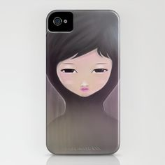 women_A iPhone Case by wit_art - $35.00