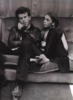 Tom Waits and Rickie Lee Jones