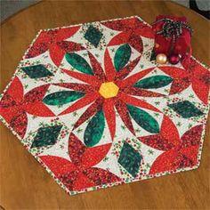PRAIRIE FLOWER TABLE TOPPER PATTERN