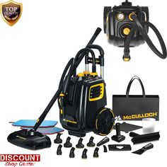 Carpet Cleaning Machine Equipment Canister Steam Professional Cleaner System New #McCulloch