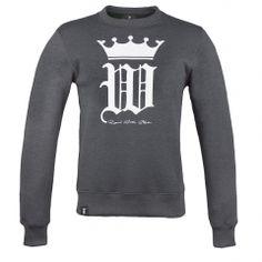 Gothic W Crown sweatshirt