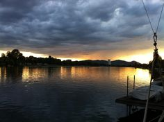 alte donau - vienna. Alter, Celestial, Sunset, Life, Outdoor, Outdoors, Sunsets, Outdoor Games, The Great Outdoors