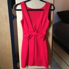 NWOT Red dress NWOT, open back dress. I no longer have the tags TJ Maxx Dresses Backless