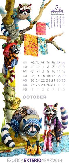 Exterio calendar 2014