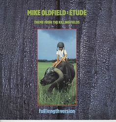 "For Sale - Mike Oldfield Etude - Theme From The Killing Fields UK  12"" vinyl single (12 inch record / Maxi-single) - See this and 250,000 other rare & vintage vinyl records, singles, LPs & CDs at http://eil.com"