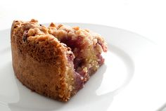 bolo de baunilha e morango