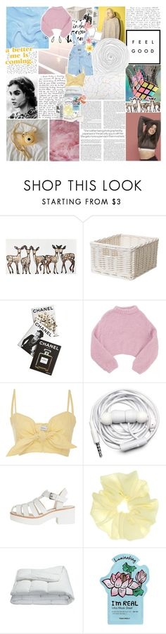 """look what you made me do"" by midnight-glow ❤ liked on Polyvore featuring WALL, Assouline Publishing, Old Navy, Lala Berlin, Faithfull, Urbanears, Frette and TONYMOLY"