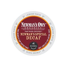 Keurig, Newman's Own Organics, Newman's Special Decaf, K-Cup packs, 72 count
