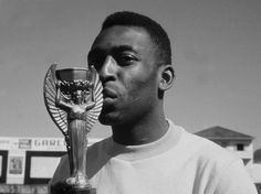 "Edson Arantes ""Pelé"" Nascimento is regarded by many experts, players, and fans as the best player of all time. Brazilian Soccer Players, Good Soccer Players, Football Players, Football 2018, Football Soccer, School Football, Worldcup Football, Football Icon, Play Soccer"