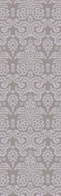 Batley Lavender/Charcoal Area Rug