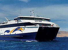 There are no bridges from the mainland to Kangaroo Island, South Australia. #SeaLink Ferry