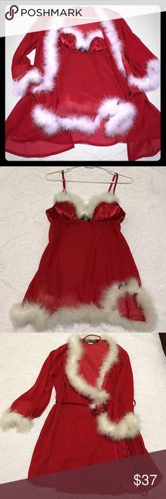 dd4cbd3c6a Santa Baby Christmas Lingerie Beautiful and sexy 2 piece Christmas  lingerie. Intimates   Sleepwear Chemises