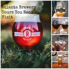 Atlanta Brewery Tours You Need To Visit I Girl Eat Atlanta Atlanta Nightlife, Visit Atlanta, Georgia On My Mind, Ecommerce Hosting, Brewery, Night Life, Tours, Eat, Passport
