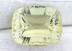 Citrine 10205: 27.46 Ct Custom Cut Laser Concave Cushion Brazilian Citrine Gem Gemstone Ebs1044 -> BUY IT NOW ONLY: $126.99 on eBay!