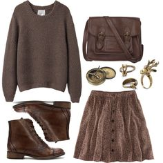 """""""Color of Fashion: Carafe"""" by beautifulnoice on Polyvore"""