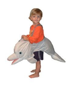 Sweet little boy in his dolphin costume!