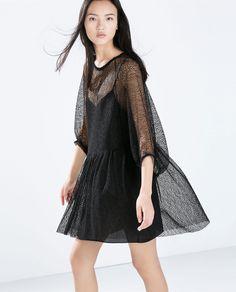 Image 2 of STUDIO MESH DRESS from Zara