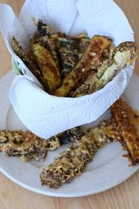 Knusprige Low Carb Zucchini-Sticks - Lachfoodies Low Carb Lifestyle