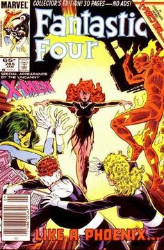 Fantastic Four #286 - Like a Phoenix! (Issue)