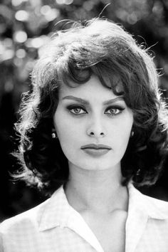 "Sophia Loren - ""Sophia Loren in the '60s is my ultimate girl crush. She always had such great hair, especially when it was windswept and completely effortless. Her eyebrows were always perfectly groomed and her skin was flawless. The one feature of hers that I try to emulate on a daily basis is her impeccably winged cat eye.""—Stephanie Montes, Beauty Editor"
