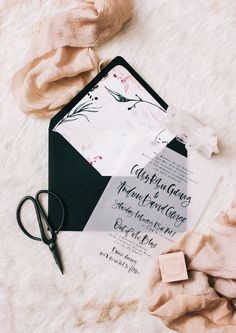 How to Properly Line An Envelope | A Fabulous Fete | Bloglovin'