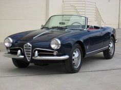 1958 Alfa Romeo Giulietta 750 Spider