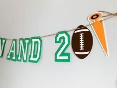 Football birthday party decorations designed and crafted by Declan & Smith Party Décor. #footballdecorations #footballbirthdayparty Baseball First Birthday, Football Birthday, Sports Birthday, First Birthday Photos, Baseball Party Decorations, First Birthday Party Decorations, Football Baby Shower, Baseball Banner, Fall Birthday Parties