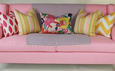 Yes, a pink couch... ok, maybe just for the ladies!
