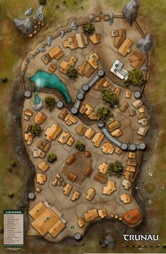 Vila de Trunau
